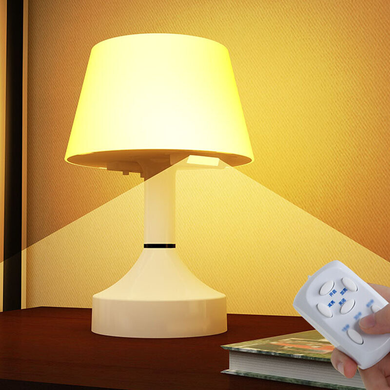 Attrayant LED Table Lamp Night Light Charging Variable Tone Light Timing Remote  Control Feeding Bedroom Bedside Lamp Obedient Table Lamp