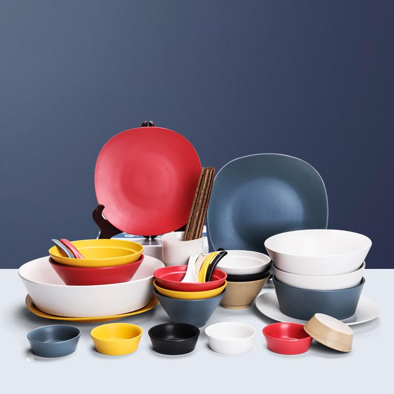 True Thai Tableware Set Ceramic Dish Set Nordic Ceramics Microwave Applicable Helsinki Macarons 39 Heads & True Thai Tableware Set Ceramic Dish Set Nordic Ceramics Microwave ...