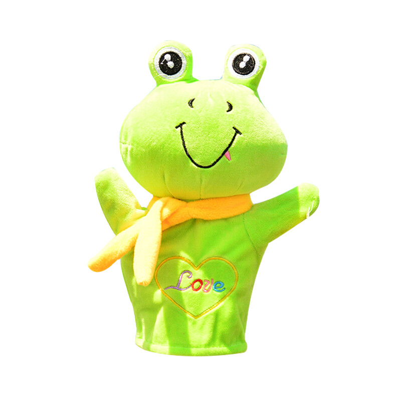 Le zhe children's animal hand puppet toy doll parent-child