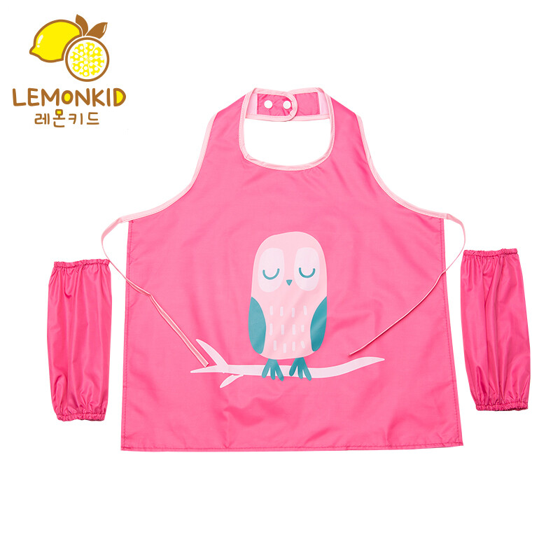 Lemon baby lemonkid children waterproof painting clothes painting ...