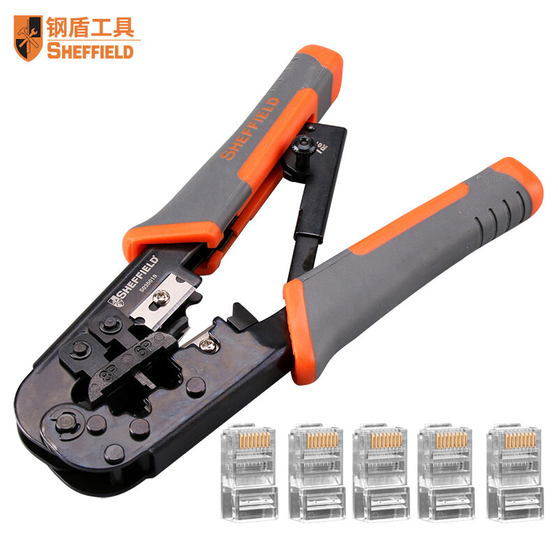 Steel Shield (SHEFFIELD) Multi-function cable clamp crimping tool ...