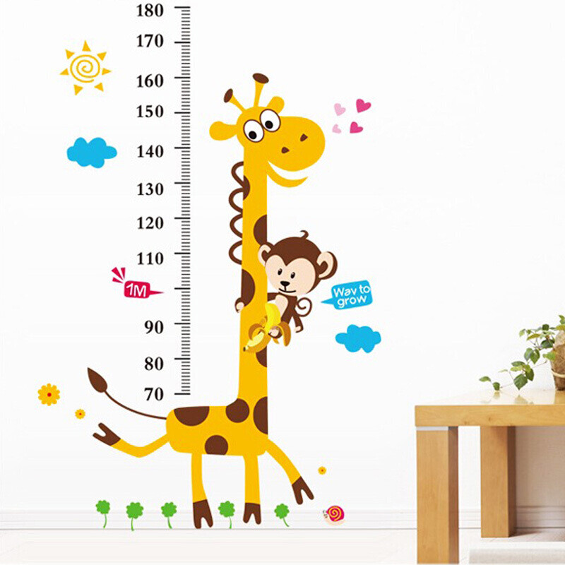 Duomeiyi removable children\'s room height ruler wall ...