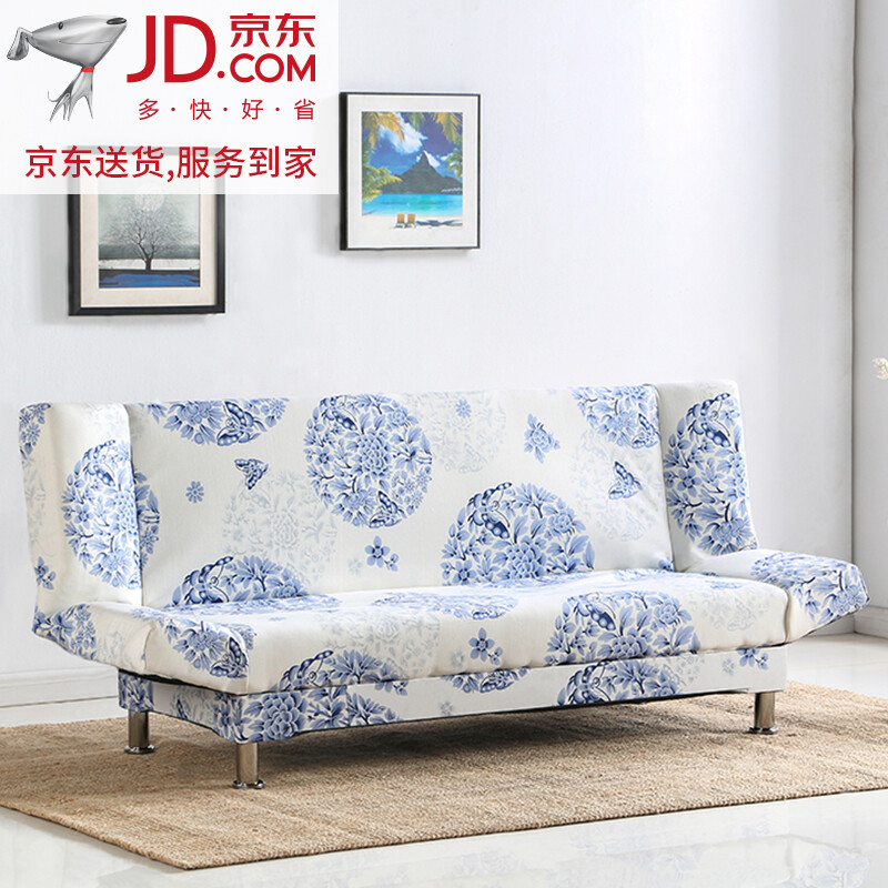 [Home Delivery] Sofa Bed 1.5 Meters Folding Sofa 1.8 Meters Multi Function  Sofa