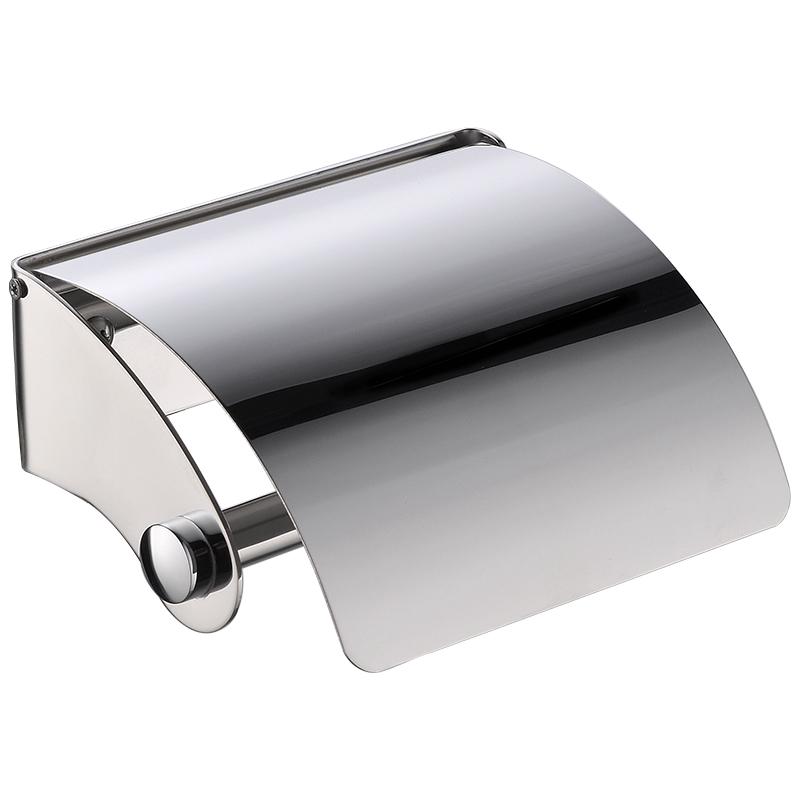 KegOO K06636 304 Stainless Steel Waterproof Toilet Paper Tray Bathroom  Toilet Paper Holder Bathroom Wall Mounted Hand Towel Tray Bathroom Hardware