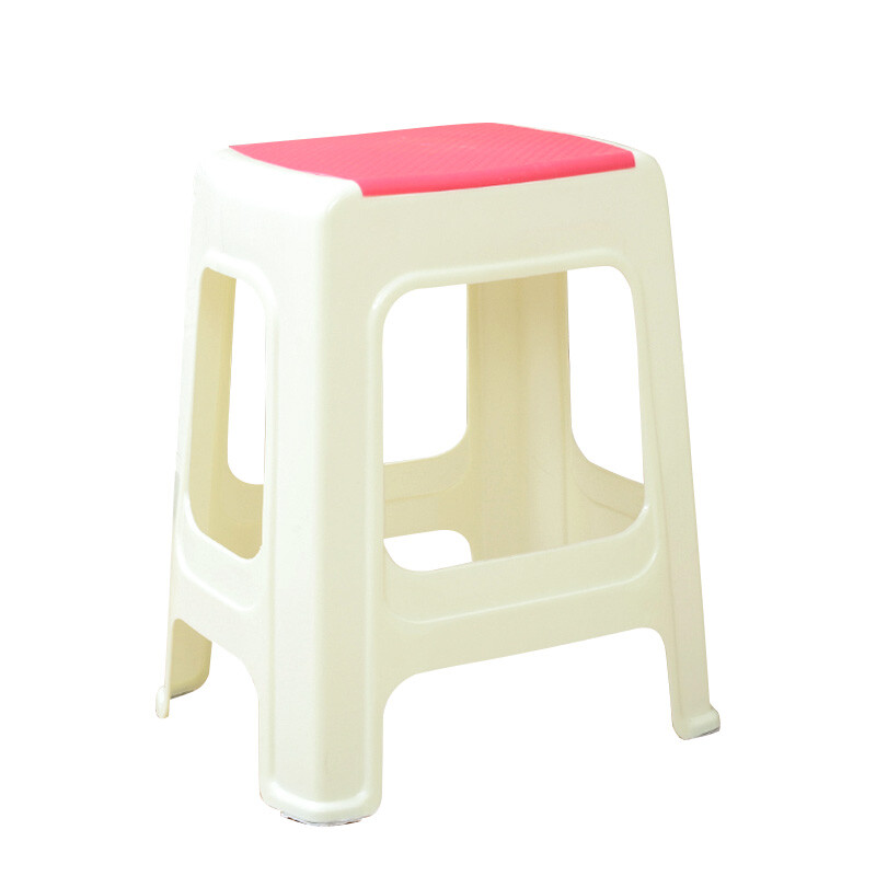 L/S thick plastic stool adult shoes bench stool bathroom stool ...