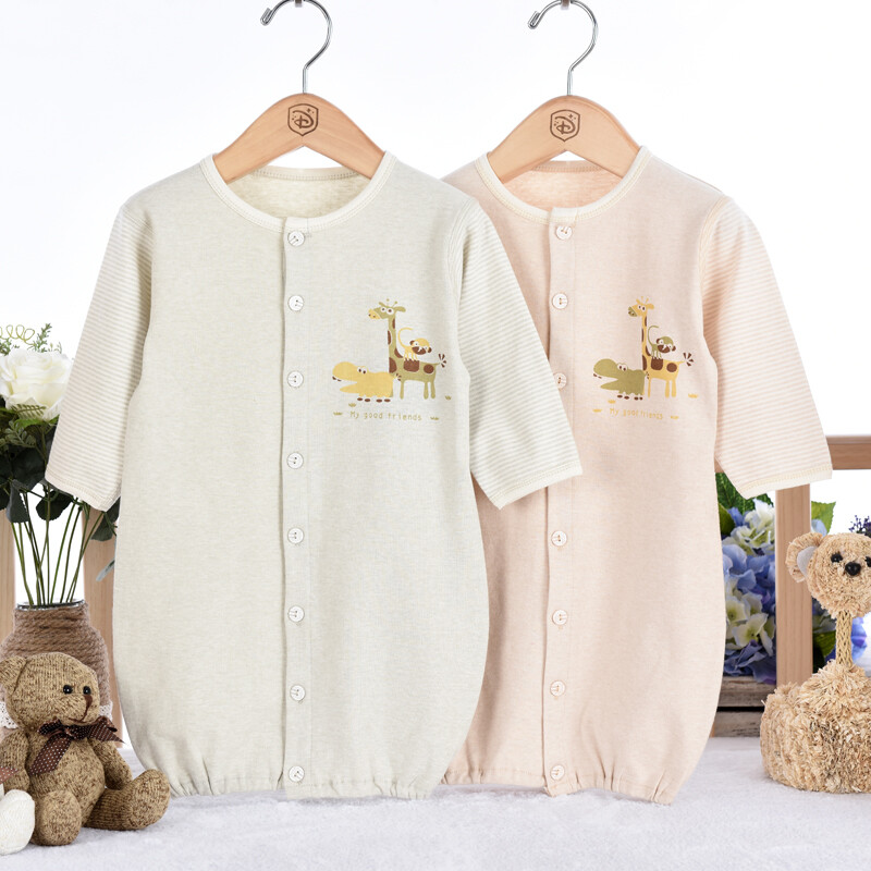 Million Baby Spring Autumn Newborn Onesies Baby Nightgowns Pajamas ...