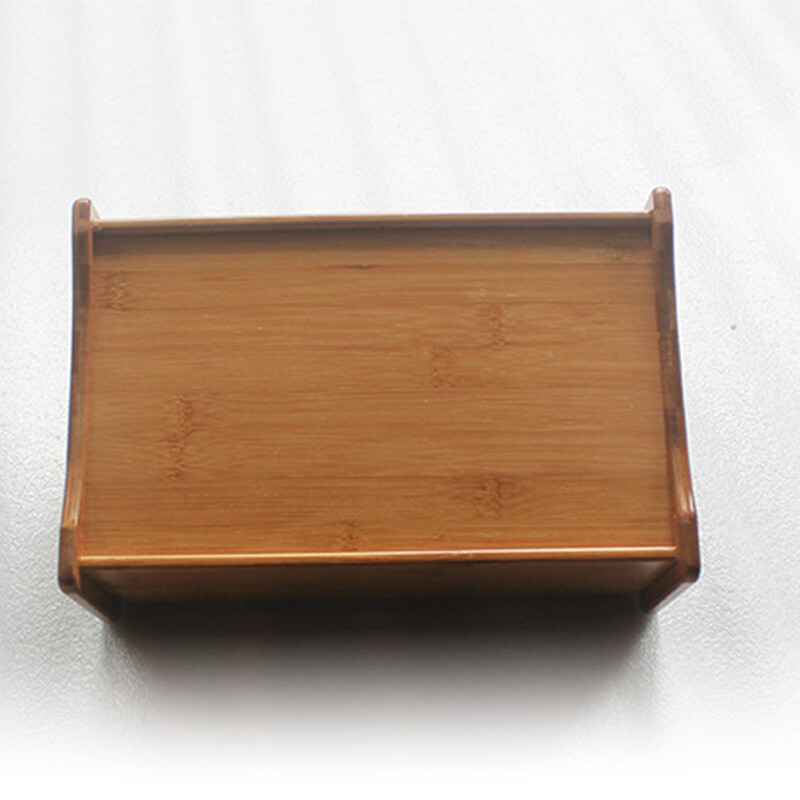 There Is A Story Remote Control Storage Box Wooden Multi Purpose Tissue Box  Home Living Room Coffee ...
