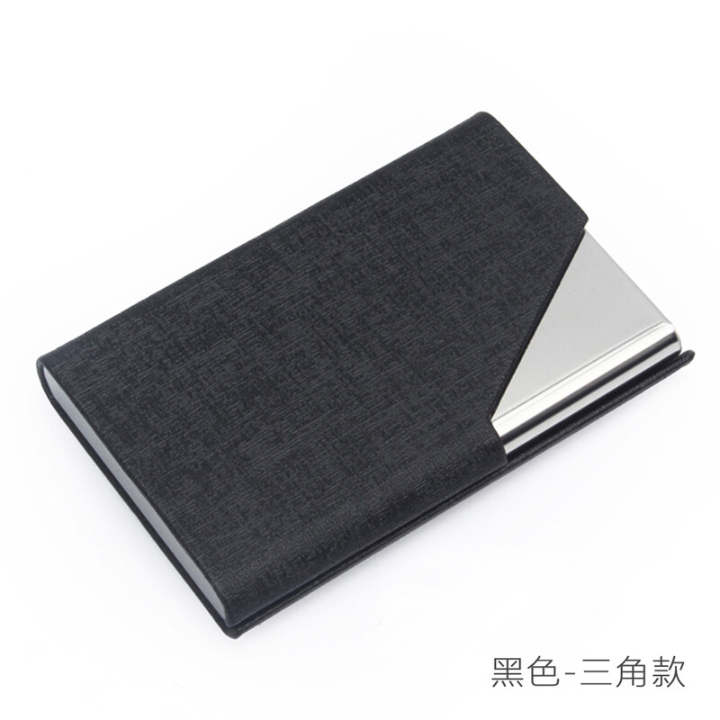 Geshan Business Card Holder Men and Women Fashion Stainless Steel ...