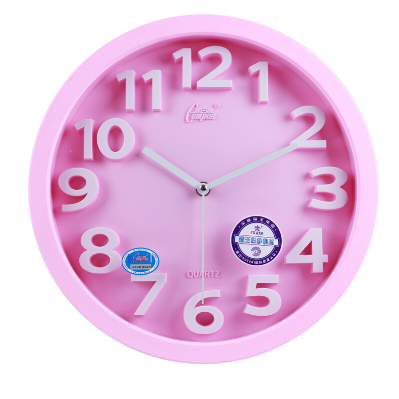 Compas 14 inch wall clock stereo creative living room hanging table ...