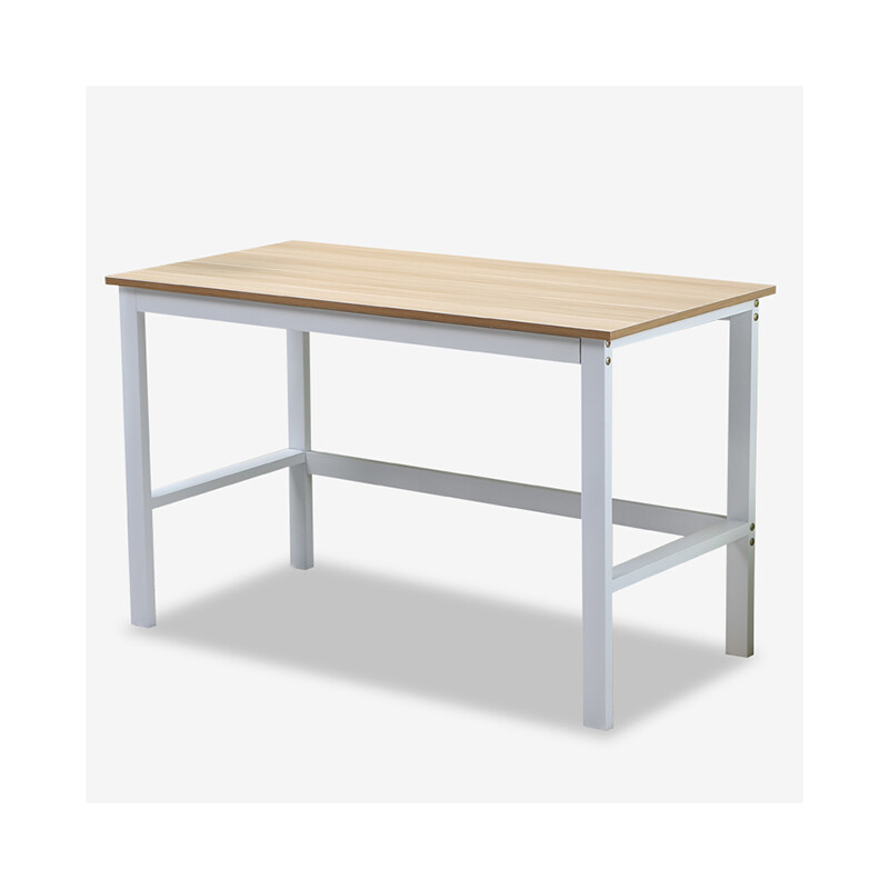 Peng Friend Furniture Computer Desk Simple Fashion Home Dining Table Light Walnut Color Py D02