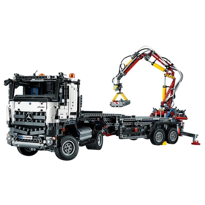 Lego Lego Mechanical Group Mercedes Benz Truck 42043 Building Blocks
