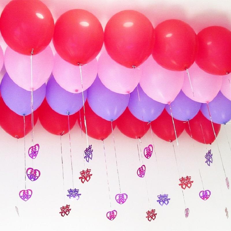 Heart Wing (XINYI) LaTeX Wedding Balloon Romantic Wedding Balloon ...