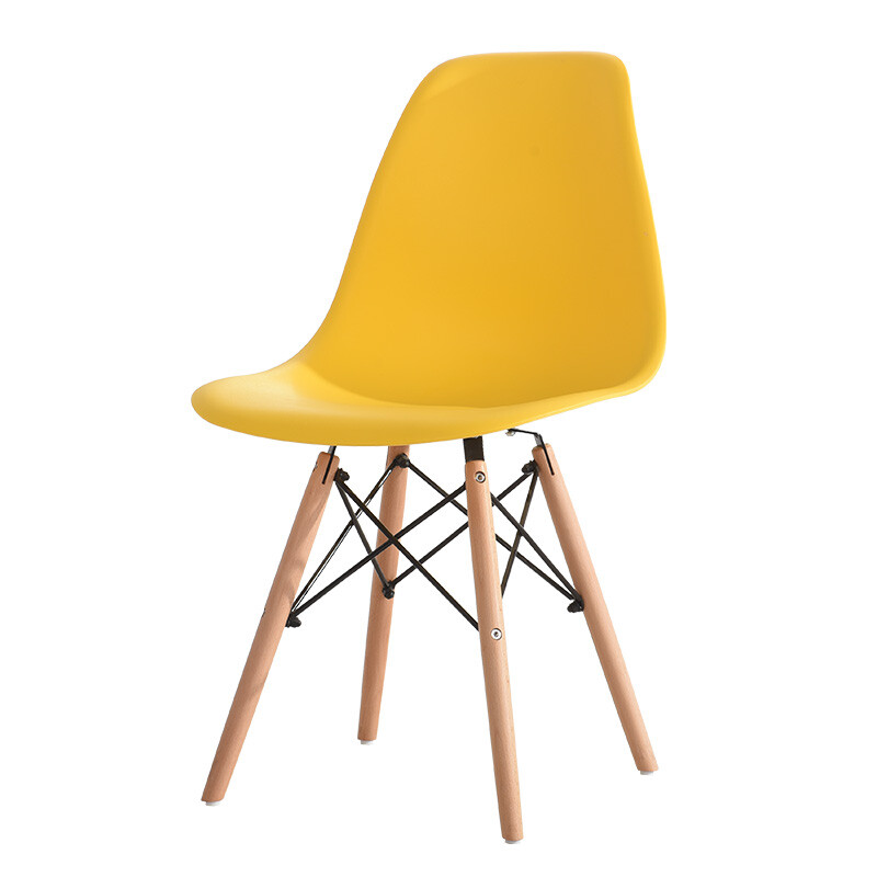 Oron Ford Computer Chair Ergonomic Water Bar Eames Office Leisure Stool Home Yellow