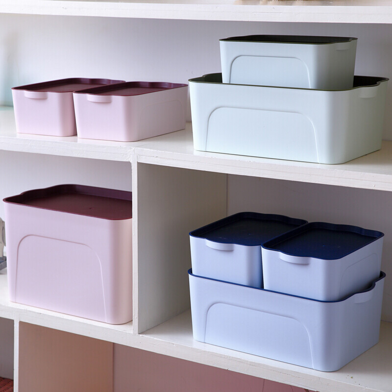 Kang Weijia Clothes Storage Box Plastic Storage Box Clothing Storage Box  Wardrobe Storage Box Desktop Toy ...