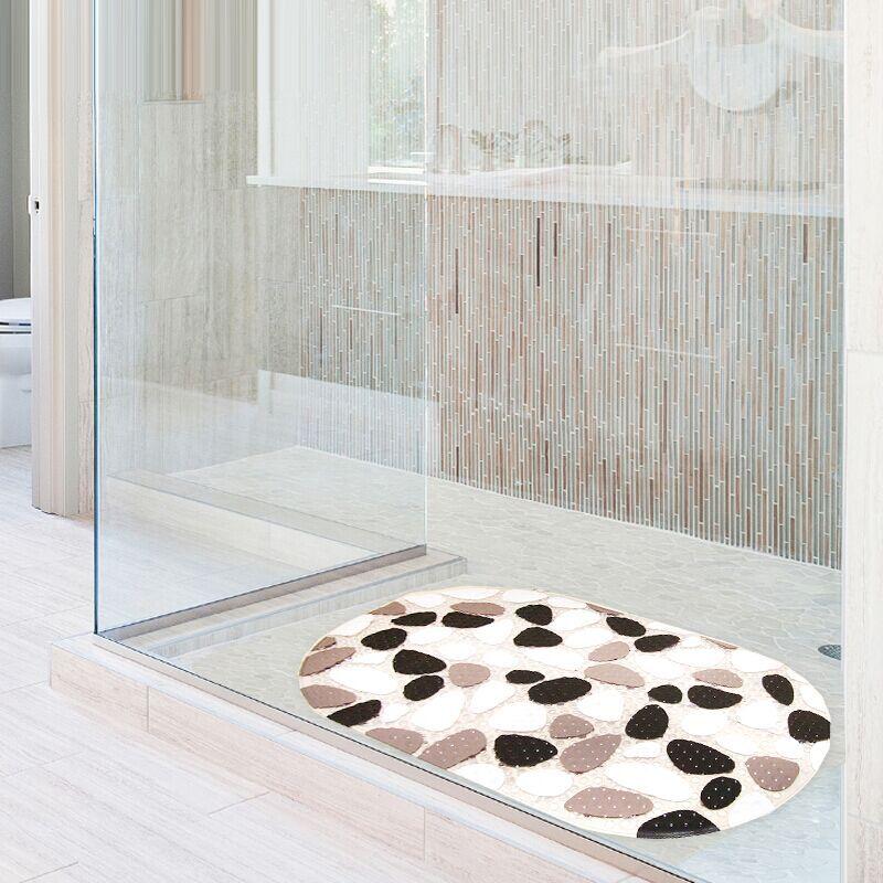 Philippine Bathroom Mats Stone Floor Pvc Bath Toilet Home Door Color