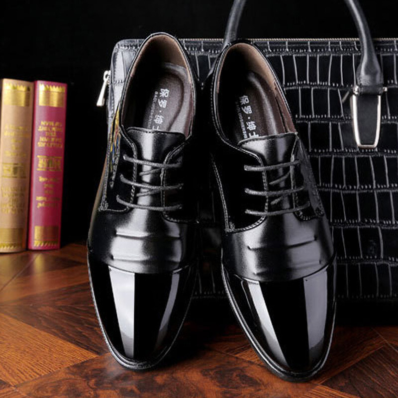 Mo Ming Dress Shoes Men 2018 Spring New Mens Formal Wear Business