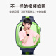 Small child prodigy Q1S waterproof watch phone GPS positioning watch intelligent student children Unicom 4G mobile phone video camera watch boys and girls pink