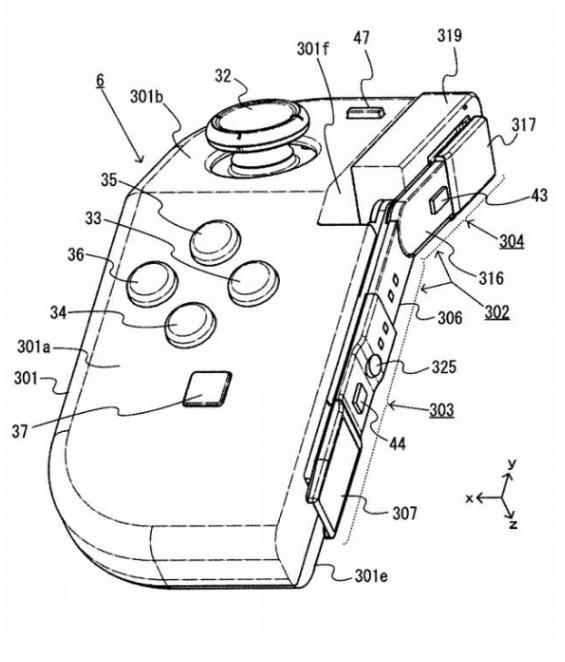 Joy-Con可以启动超级变换形态?任天堂新专利首度曝光!