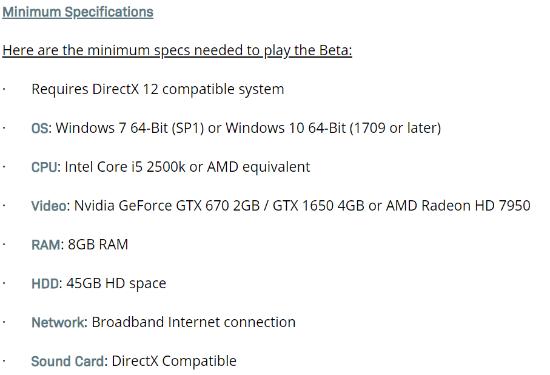 使命召唤16PC推荐配置曝光 GTX 970或GTX 1660!
