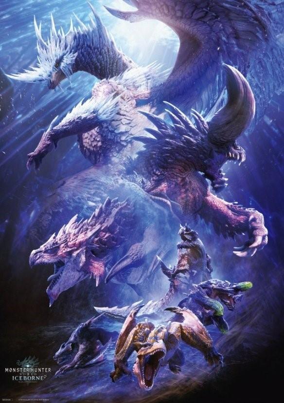 PS4怪物猎人世界冰原连续两周获日本游戏销量冠军!