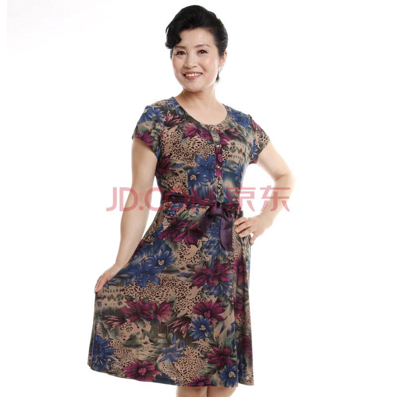 中年服装_尚菊 新款中老年人服装 中年女装夏装 时尚休闲妈妈装