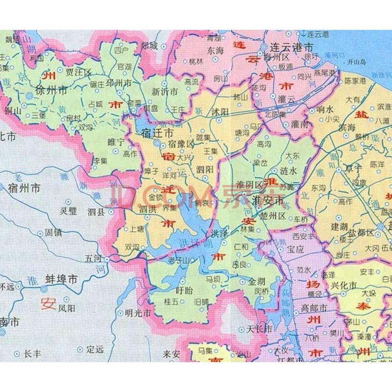 江苏省地图-最新版 陈振国
