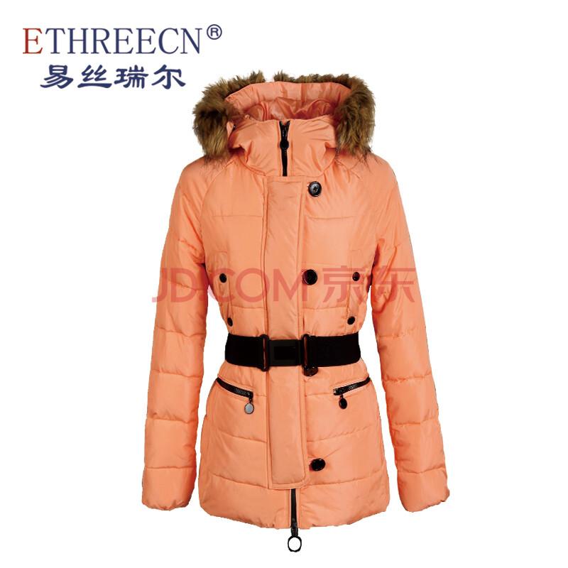 易丝瑞尔欧美春薄棉衣女短款韩版军工装修身棉服外套