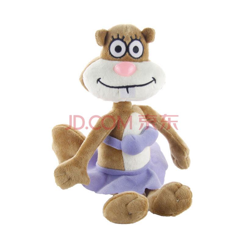 澳捷爾 海綿寶寶全家福系列之珊迪(比基尼版) 毛絨公仔 20cm 珊迪
