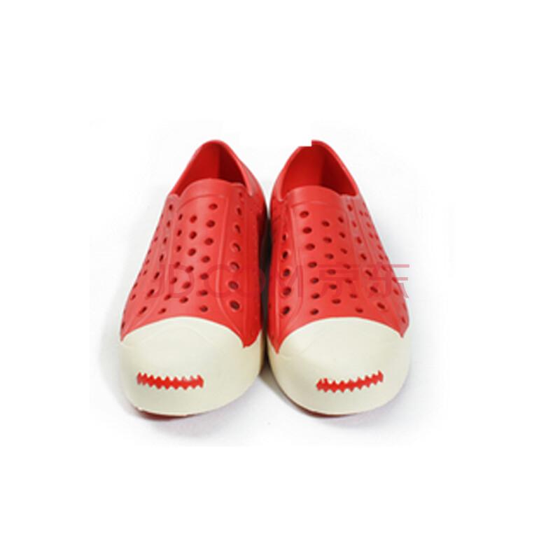 新尚依(xinshangyi)14夏季新款洞洞鞋沙滩鞋休闲凉鞋 情侣透气韩版