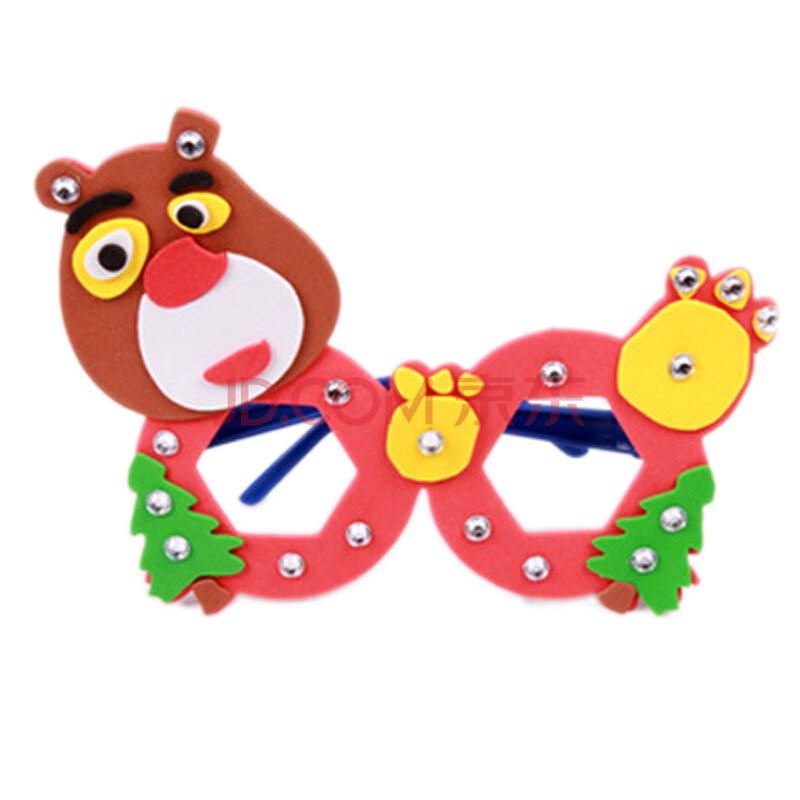 幼兒童手工貼畫diy制作材料3d立體粘貼畫玩具