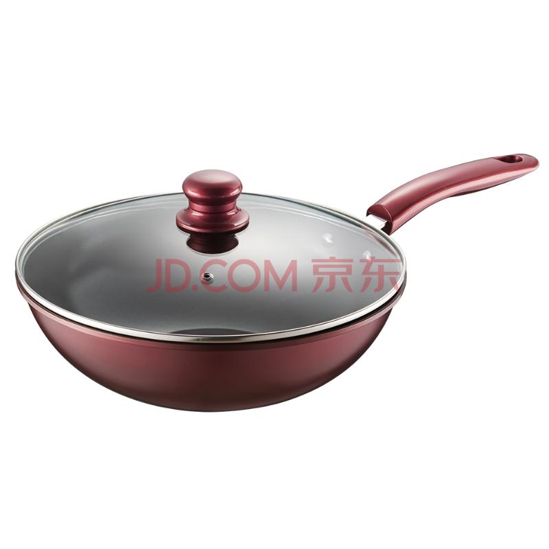 德世朗 乐炫精铁不粘炒锅 DFS-C106A