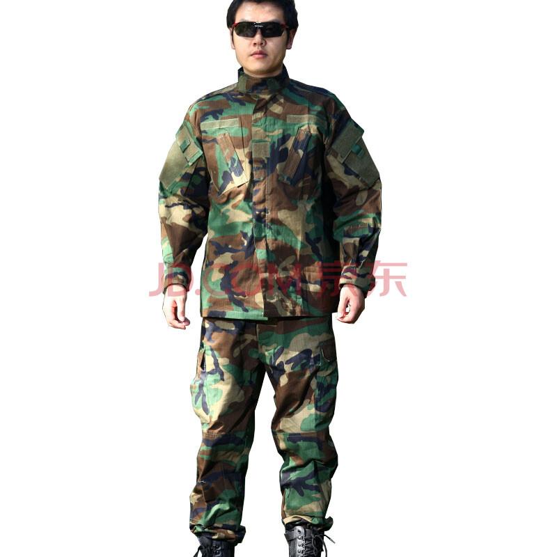2013武警特战迷彩服_c07美军丛林迷彩服男特种兵仿生套服/特战作训服图片
