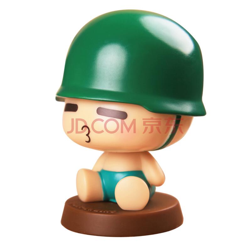 萌宝(cutebaby) 炮炮兵 摇头公仔 卡通周边玩具