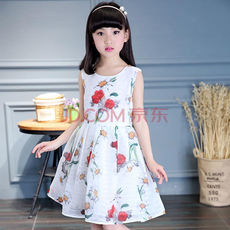 女童夏装连衣裙 2016新款儿童公主裙