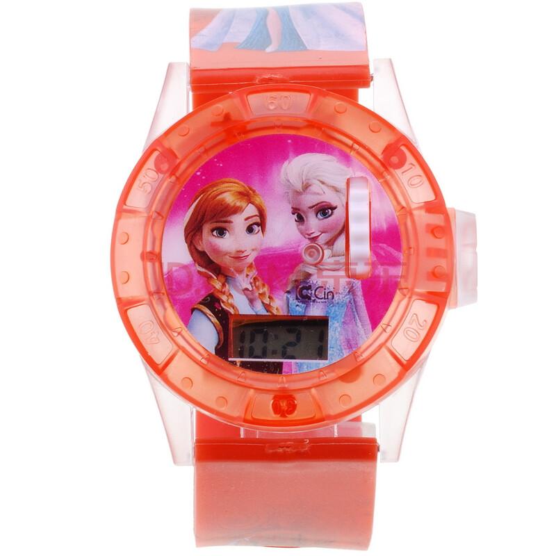 凱弘 兒童投影音樂玩具手表 愛莎公主