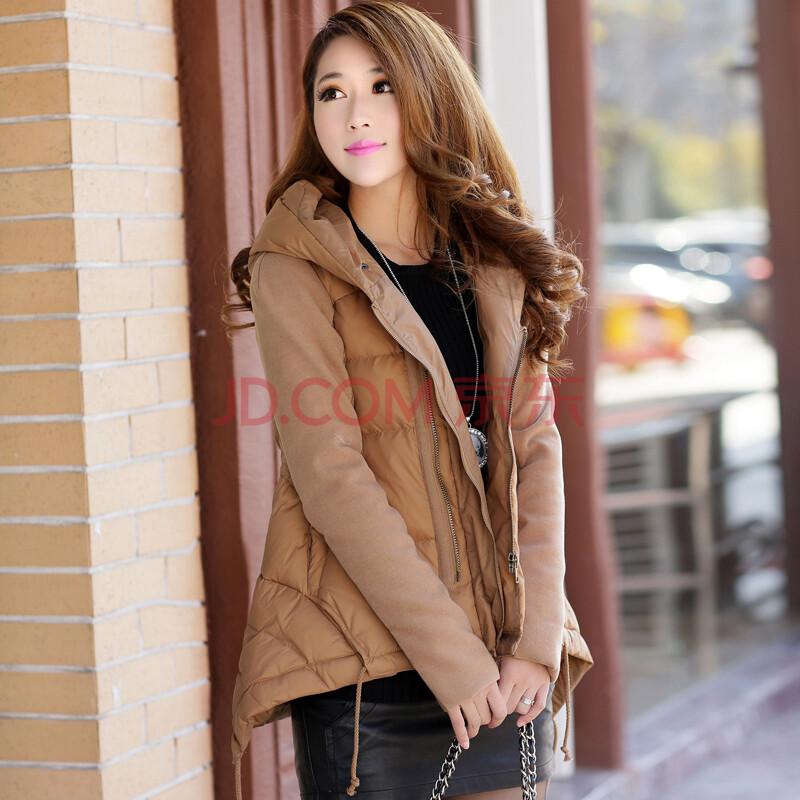 最新款女冬装_2014冬装新款韩版女装短款羽绒服