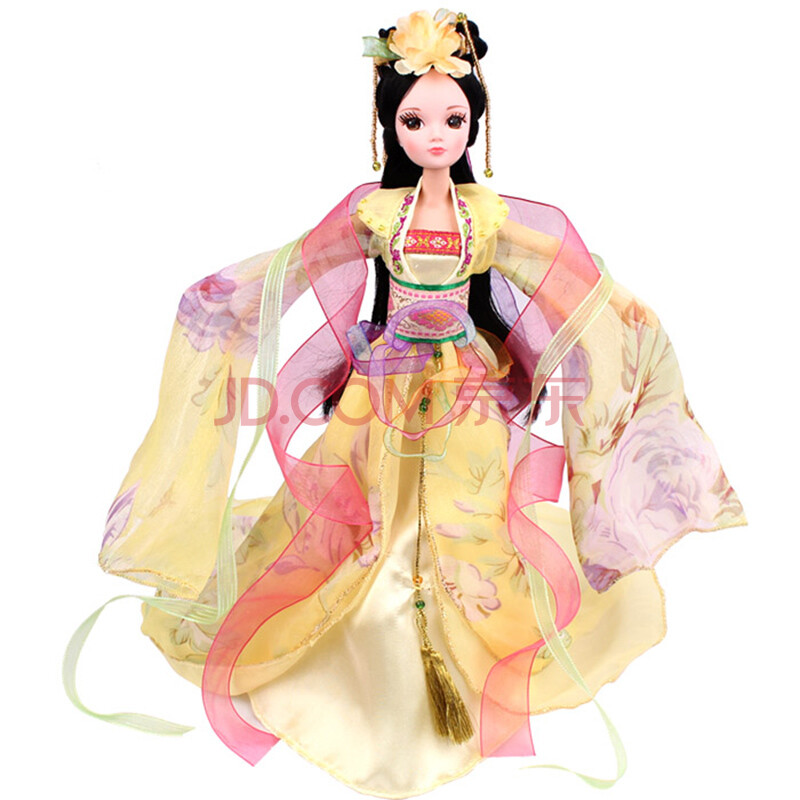 七仙女古装娃娃_正品可儿娃娃可儿 芭比娃娃 中国古装新四季仙子巴芘