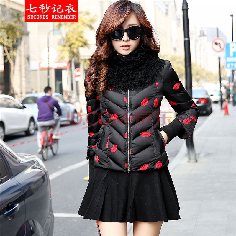 韩版短款外套修身小棉衣女款加厚羽绒棉服女士时尚