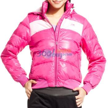 LI-NING 李宁 女式短款羽绒服