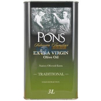 PONS 棒氏 特级初榨橄榄油3L