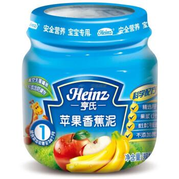亨氏苹果香蕉泥113gX12瓶