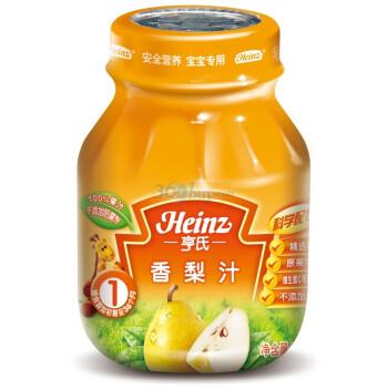 亨氏香梨汁118mlX12瓶