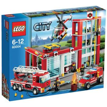 LEGO 乐高 消防总局L60004