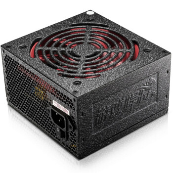 游戏悍将 额定500W 红警RPO500电源(主动式/宽幅电压/智能温控/支持背线)