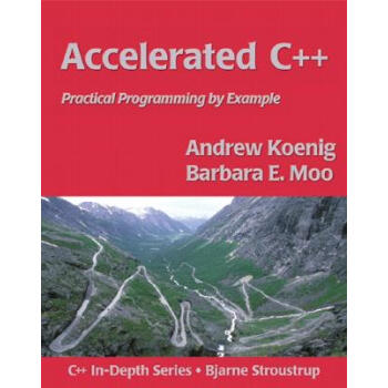 Accelerated C++:Practical Programming by Example PDF高清完整版-PDF下载