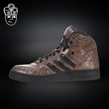 Adidas Jeremy Scott 限量潮鞋 JS大舌头 英国国旗d...   Adidas