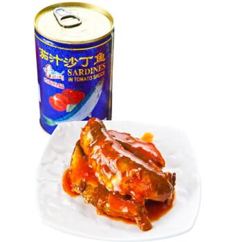古龙 茄汁沙丁鱼 罐头 425g
