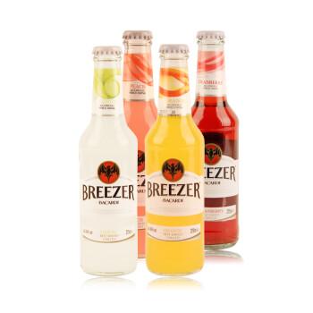 bacardi百加得_BACARDI 百加得 BREEZER 冰锐 朗姆预调酒套装 275ml*6瓶 59.9元(可用30 ...