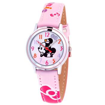 迪士尼女童手表_【迪士尼儿童手表】迪士尼(DISNEY)手表 米妮粉色表带女孩系列 ...