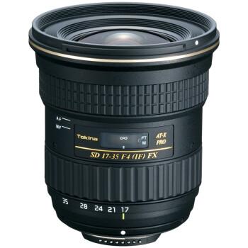 �D��(TOKINA) AT-X 17-35mm F4 PRO FX 全��幅�V角�R�^ 尼康卡口
